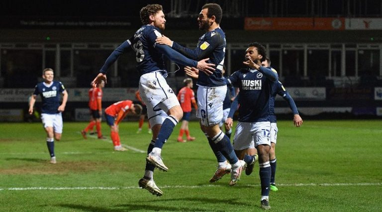 Millwall boss reveals George Evans' cheeky quip after former Derby man nets leveller at Luton
