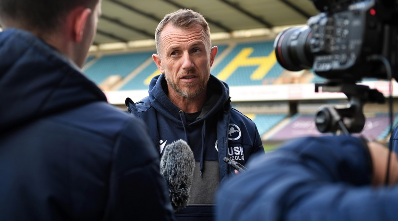 Millwall manager on season's best passing statistic in rout of Bristol City at The Den