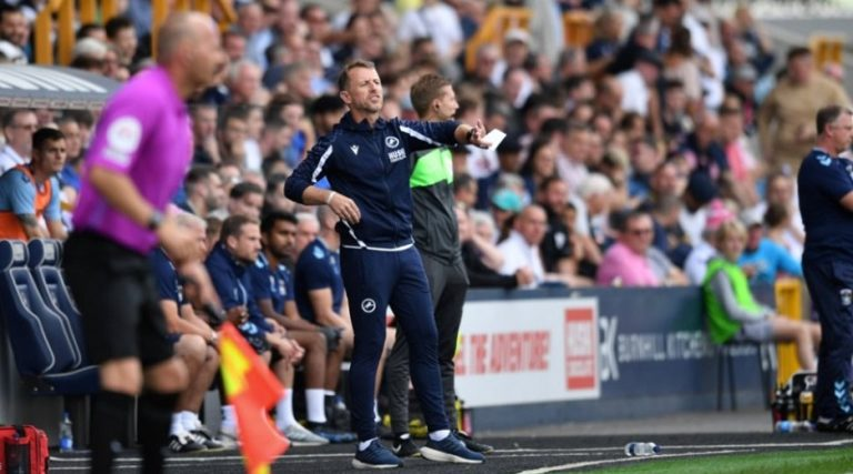 Millwall boss makes surprise admission despite apparently good goal ruled out against Coventry