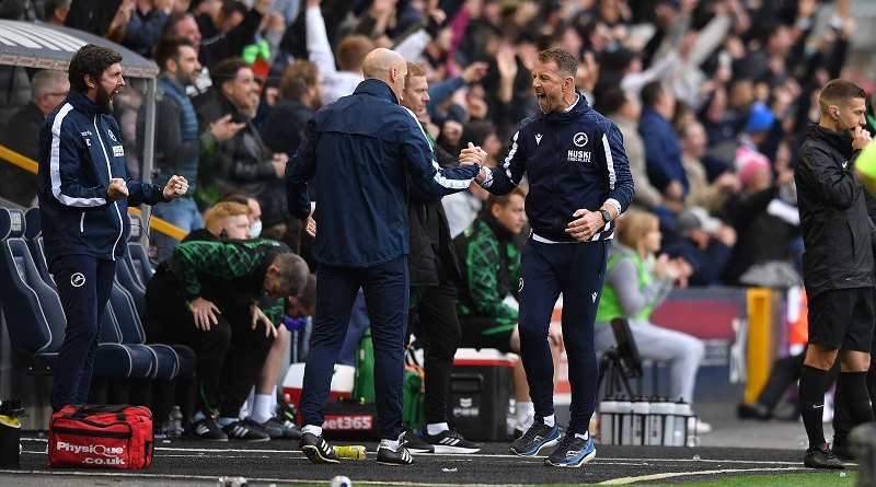 'People can keep singing about me' - Millwall boss after extending record against Stoke City